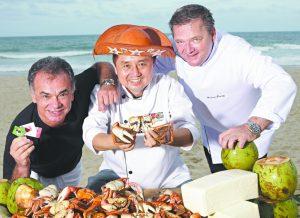 Bernard Twardy, Élcio Nagano e Fernando Barroso