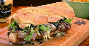 Mignon na Baguete: opção do Deli Deli