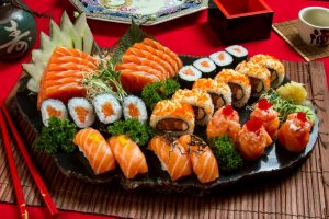 Combinados de sushi do suhsi ya bar