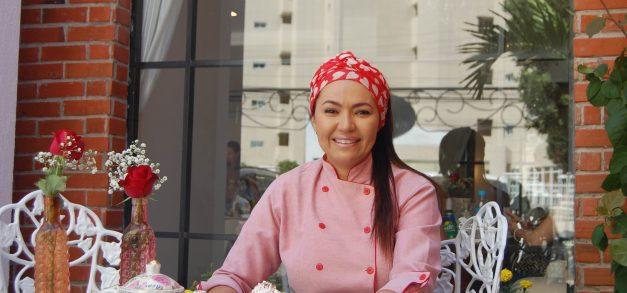Sílvia Vasconcelos: uma história de paixão à boa e doce gula