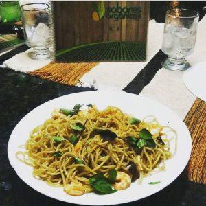 sabores orgânicos prato