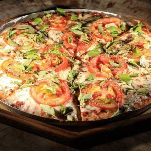 sabores organicos pizza