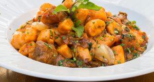 Gnocchi batata doce jerimum