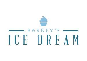 Nova logomarca do Barney's Ice Dream