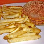 Ned Kelly Cheddar Burger
