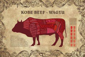 Corte do koob beef