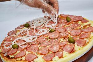 Criação de pizza