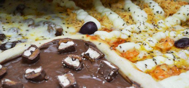 Sinhorina Pizza: pizzas personalizáveis e com variedade