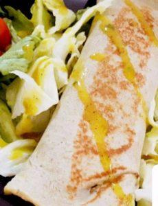Panqueca funcional da Saladex