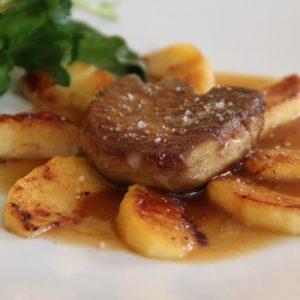 escalope de foie gras Marcel Restaurante