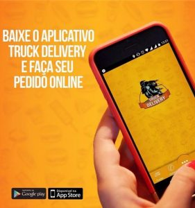 app truck delivery