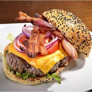 Bacon Cheese Burger, do Meatpacking NY Prime Burger (Divulgação)