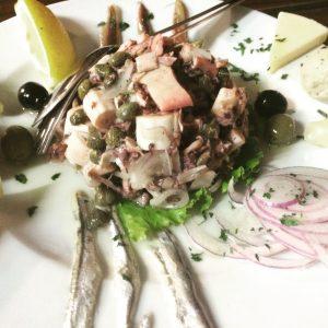 Platter Peskarija: mariscos e muito Ômega 3