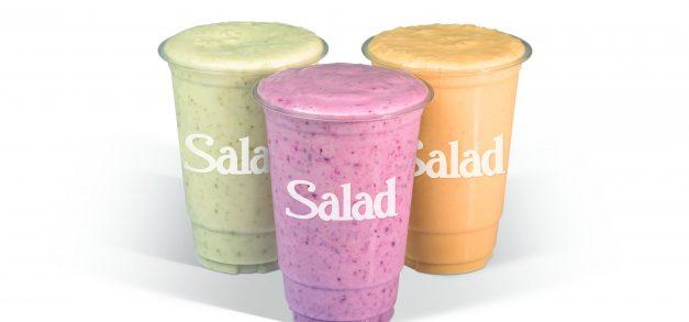 Salad Creations lança linha de shakes sem lactose
