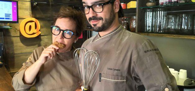 Lucas Corazza e Anna Paula promovem evento Chocólatras Solidários
