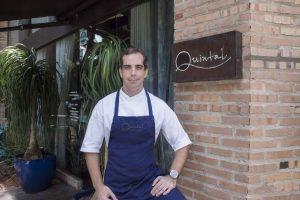 Chef Marco Gil, do Quinta Restaurante: valorização de uma gastronomia simples e criativa à base de produtos da terra
