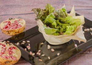 Entrada Salada de Romã LIFE MENU MISAKI