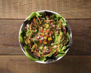 Salada Vegetariana é uma das novidades da Salad