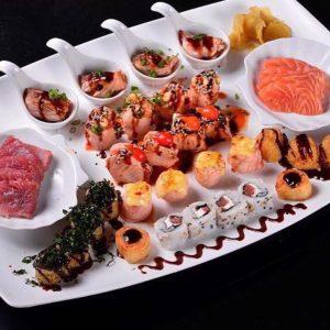 Combinados do Fuji Sushi Lounge trazem criações inusitadas com molhos, geleias e ingredientes interessantes