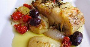Bacalhau é uma das atrações para o almoço