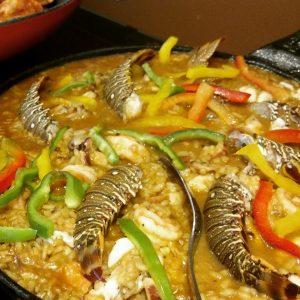 A paella é uma das opções do Tomate Cereja (Divulgação)