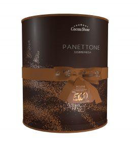Panettone Recheado Sabor Mousse de Chocolate 700g (Divulgação)