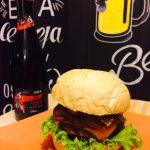 Owl Beer Pub: hambúrguer