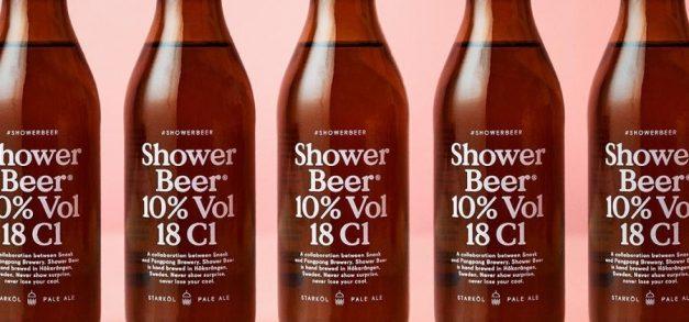 Cervejaria sueca lança cerveja ideal para tomar no chuveiro