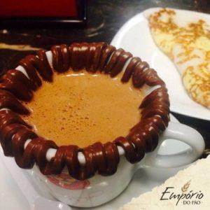Café com tapioca do Empório