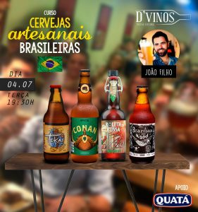 DVinos Curso de Cervejas Artesanais Brasileiras