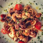 Linguine al frutti di mare do Decanter