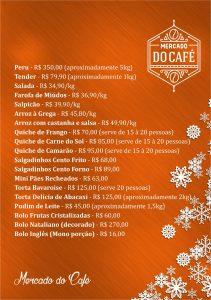Tabela de Precos Mercado do Cafe