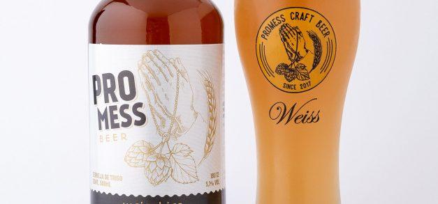 Promess Beer Weiss é cerveja de estilo alemão produzida no Ceará