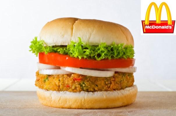 McDonald's lança McVeggie, sanduíche vegetariano