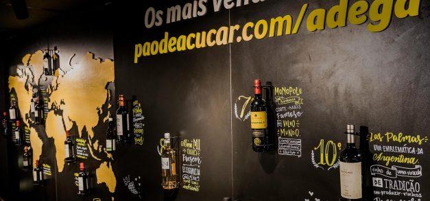 Pão de Açúcar inaugura loja e site dedicados ao vinho