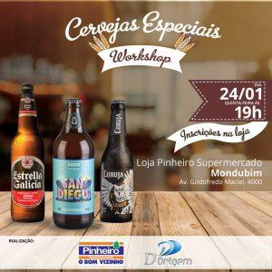 Workshop de Cervejas Artesanais