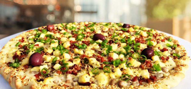Hot Box Pizza traz insumos como moqueca de arraia, nata e até feijão verde