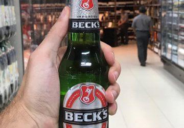 Mercadinhos São Luiz inclui cerveja Beck's em carta de bebidas