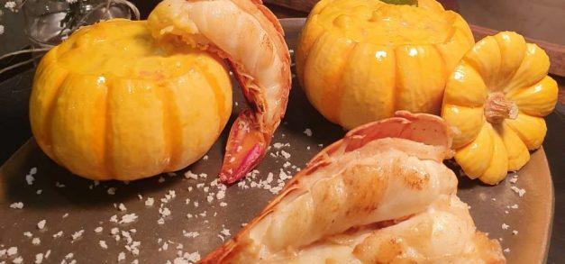 Restaurante Renascença apresenta lagosta na moranga no concurso O Quilo é Nosso 2019