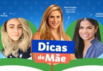 """Betânia Kids aborda temas da nutrição infantil com ação """"Dicas de Mãe"""""""